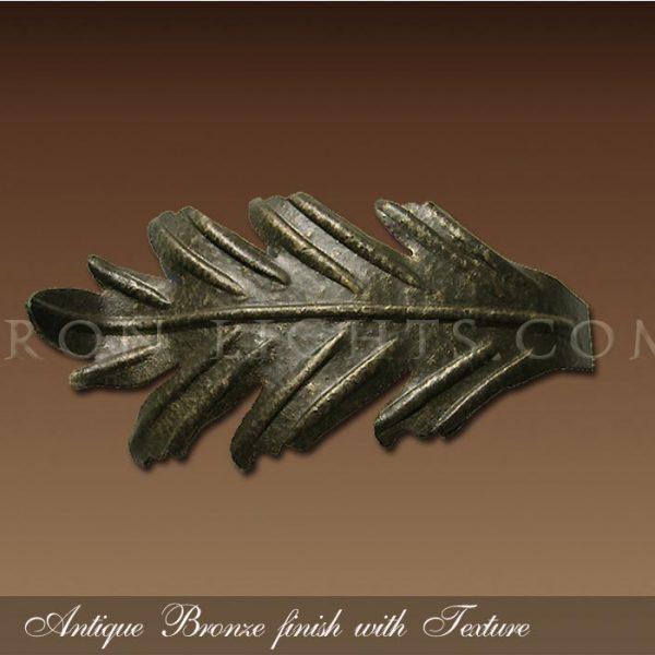 Antique bronze with texture