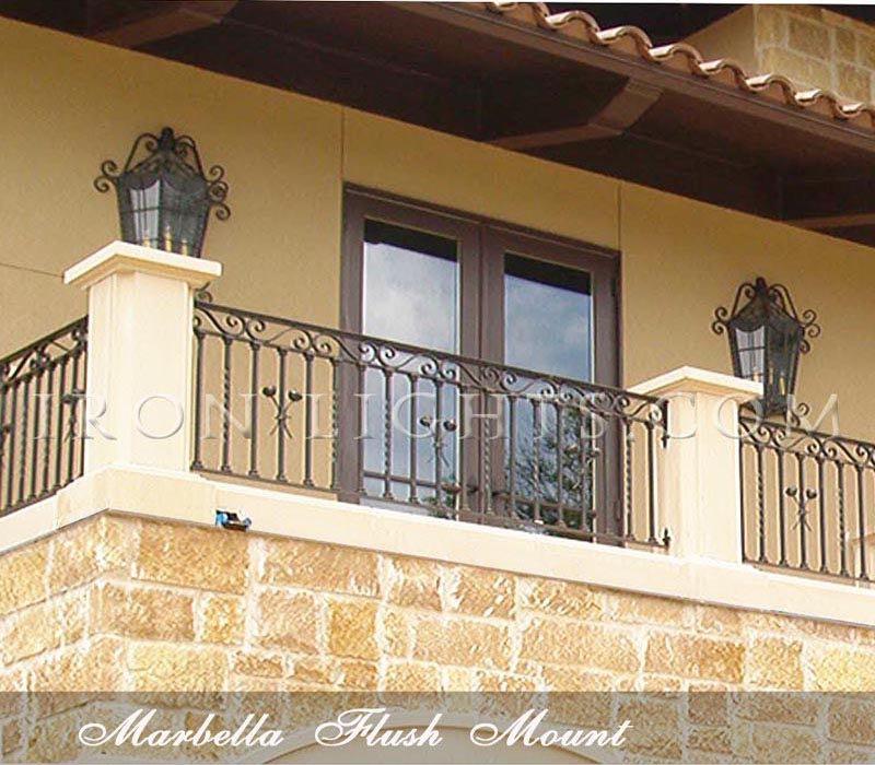 Marbella flush lights