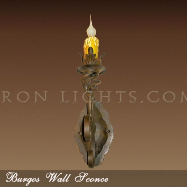 Burgos hacienda indoor wall sconce