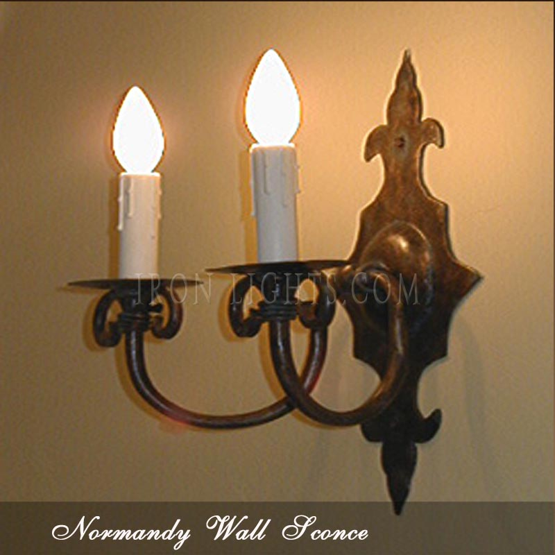 Normandy wall sconce