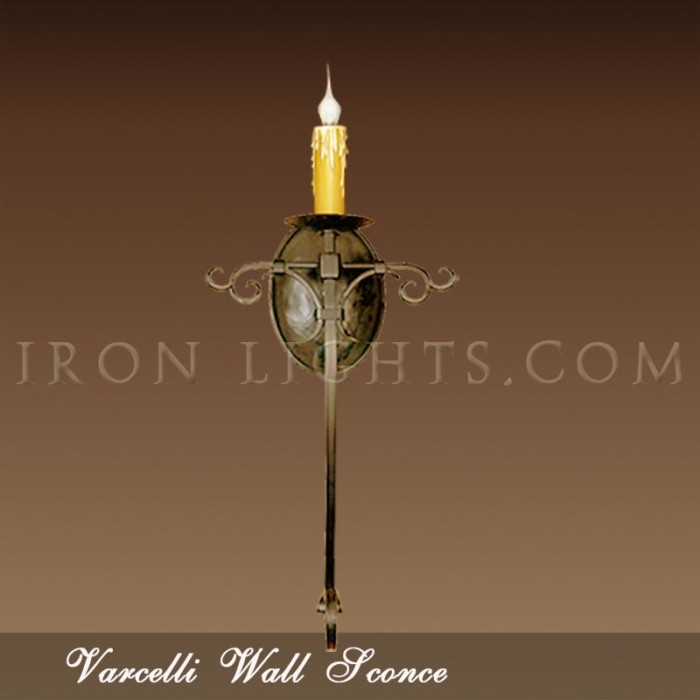 Varcelli wall sconce