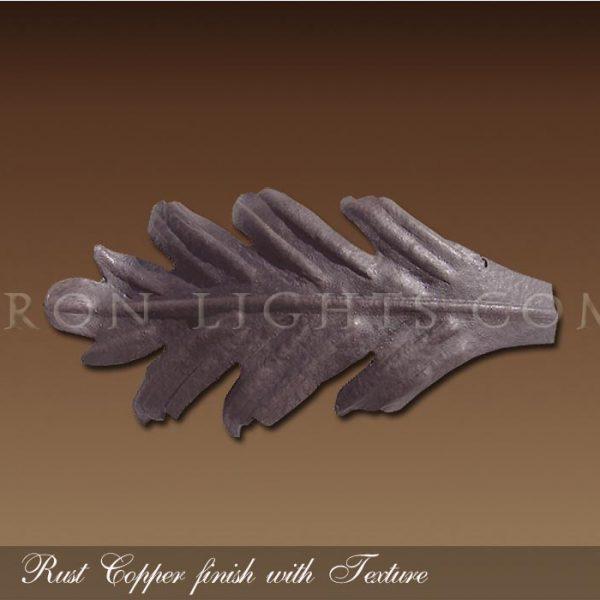 Rust Copper finish