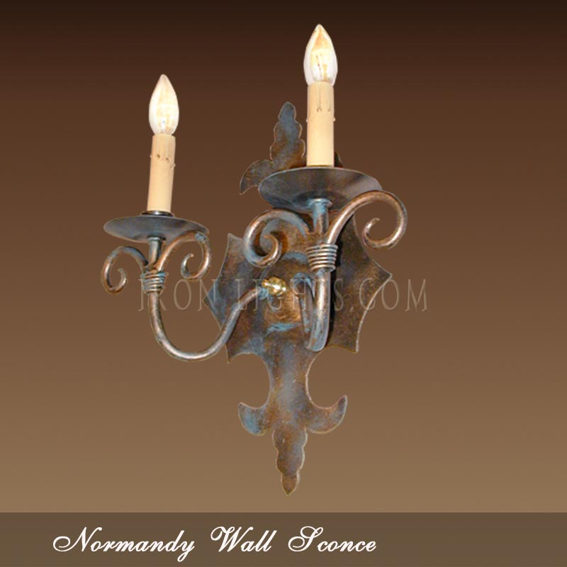 Normandy indoor wall sconce
