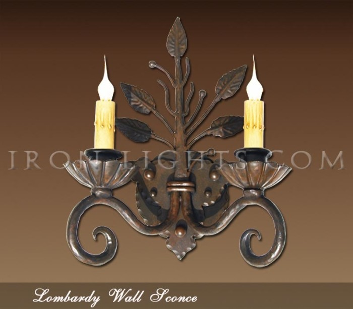 Lombardy wall sconce