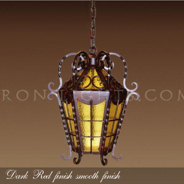 Hacienda iron pendant lights