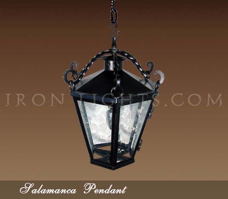Salamanca iron pendant light