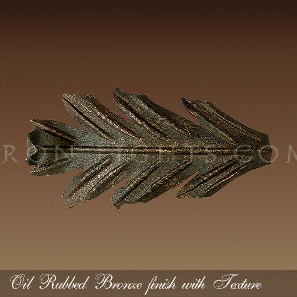 Oil Rubbed Bronze finish
