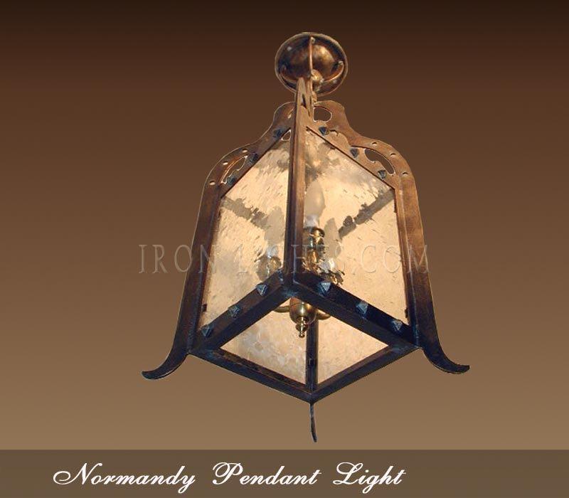 Mediterranean iron pendant lights