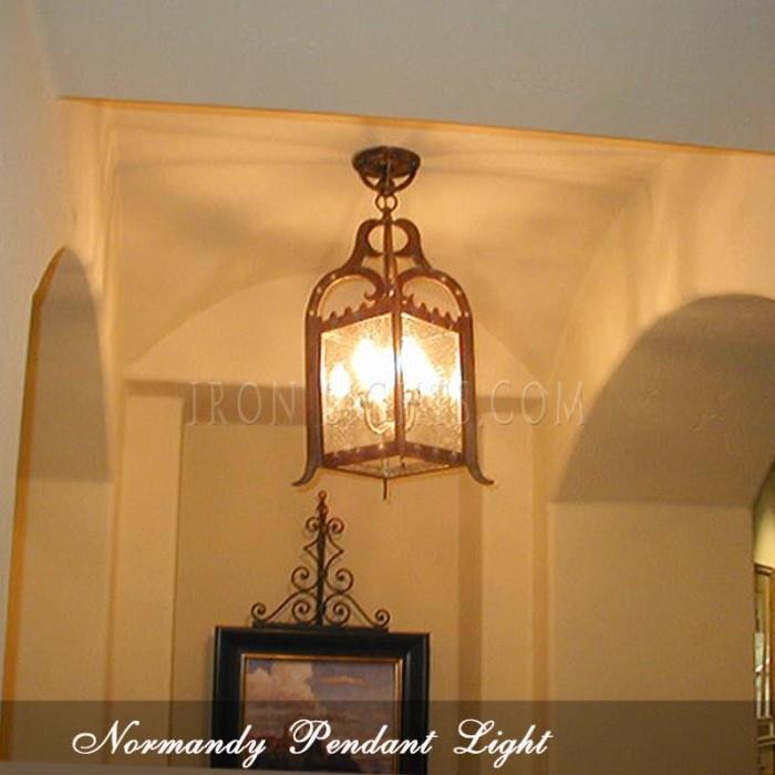iron pendant lights