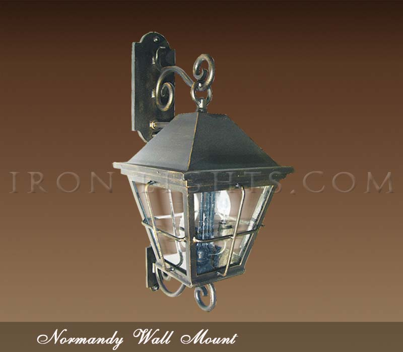 Normandy outdoor wall mount