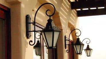 Wrought Iron Lighting Rustic Chandeliers Light Fixtures