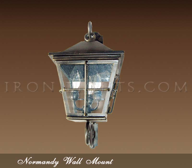 Chateau outdoor light fixtures