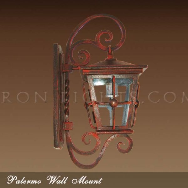 Mediterranean outdoor sconce