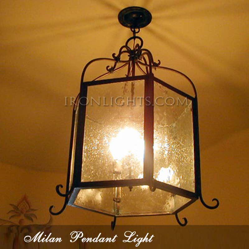 Milan indoor pendant light
