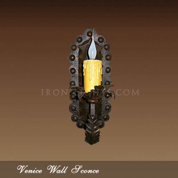 Mediterranean indoor sconce