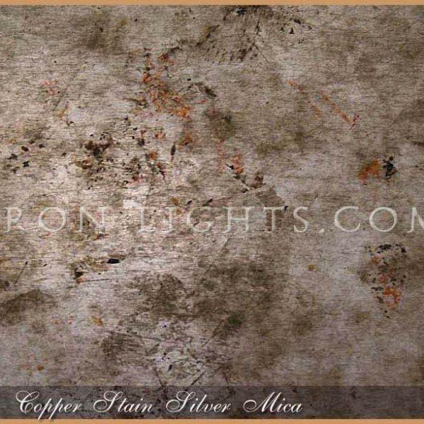 Copper Stain Silver Mica