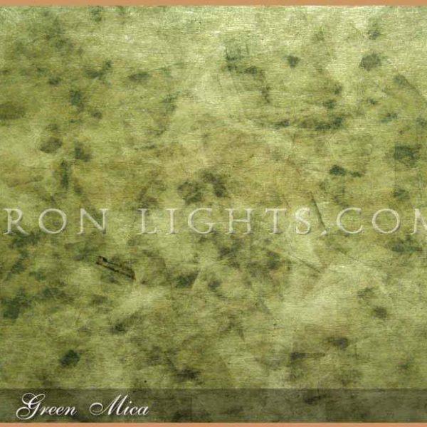 Green mica shade