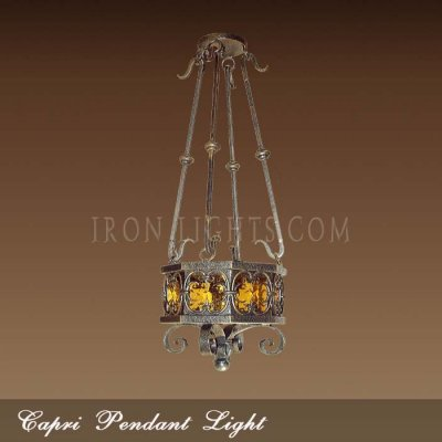 Capri pendant light fixture