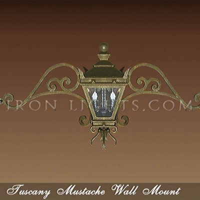 Wall mount light fixtures
