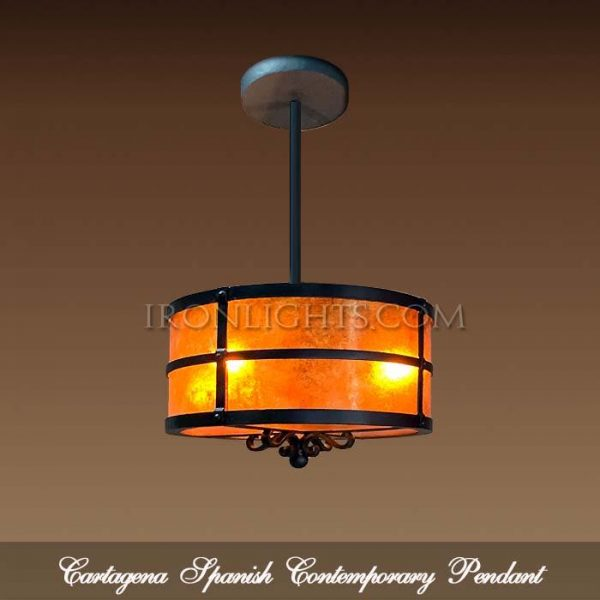 Spanish contemporary pendant light