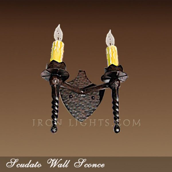Scudato wall sconce