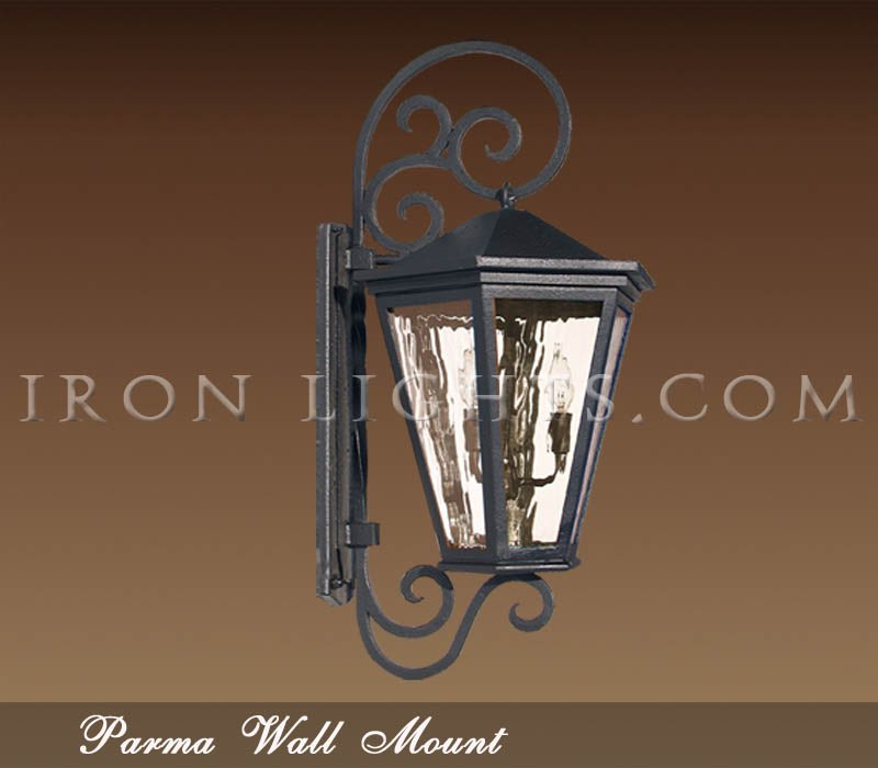Outdoor lighting fixtures