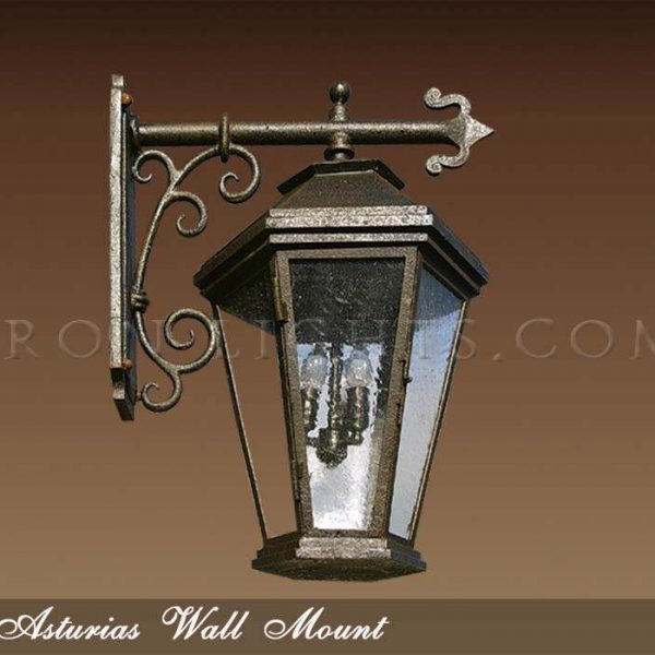 Outdoor wall sconce Asturias