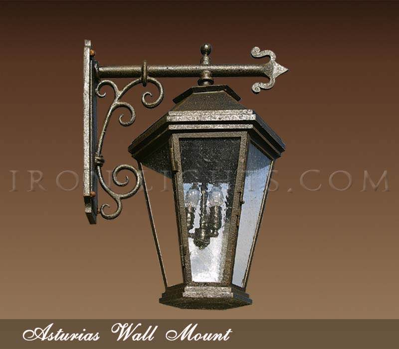 Wrought Iron Lights Lighting Fixtures