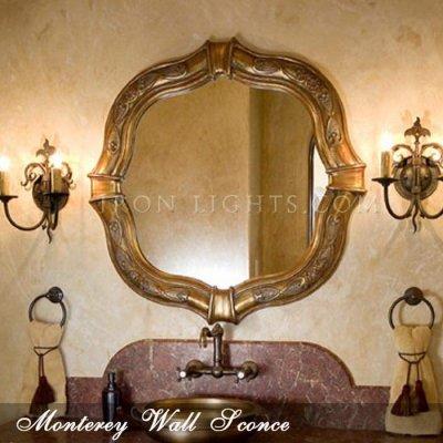Monterey bathroom lighting