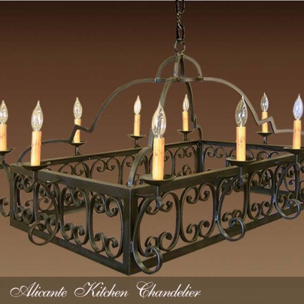 Alicante kitchen chandelier