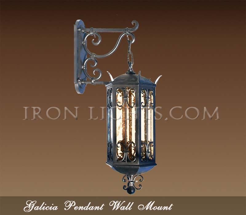 Spanish Outdoor Lighting Wrought Iron