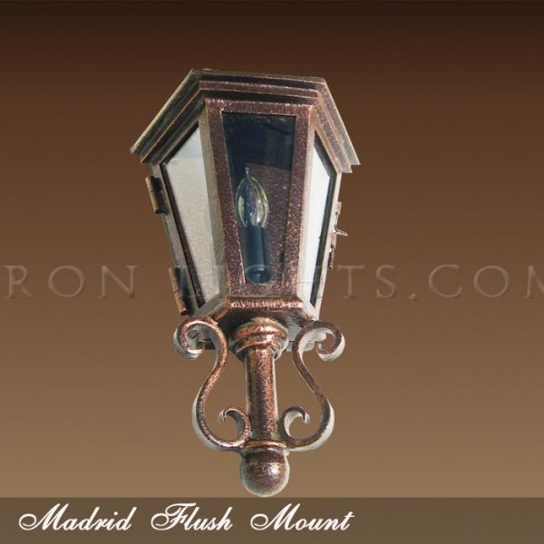 Madrid pocket light fixture
