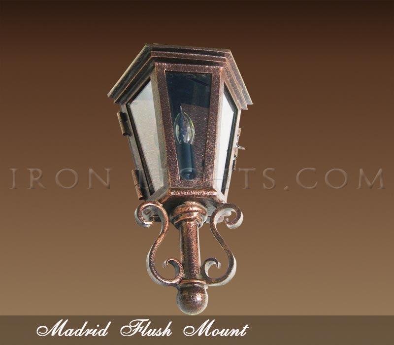 Madrid pocket light fixture