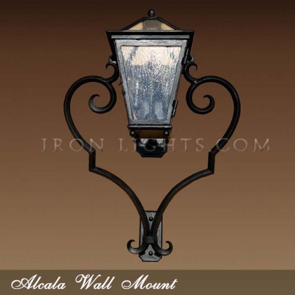 Alcala hacienda outdoor lighting