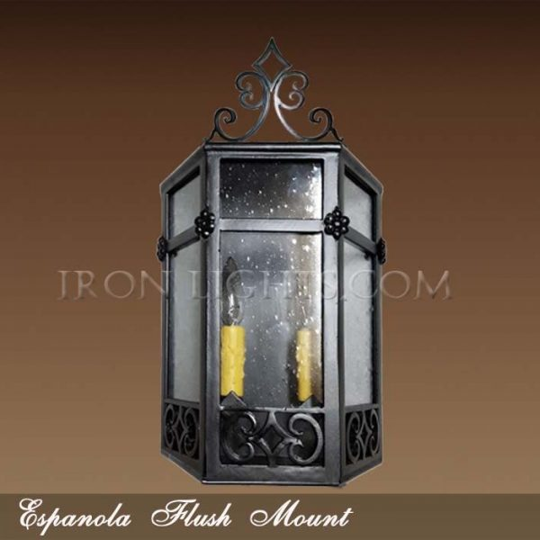Espanola flush mount light