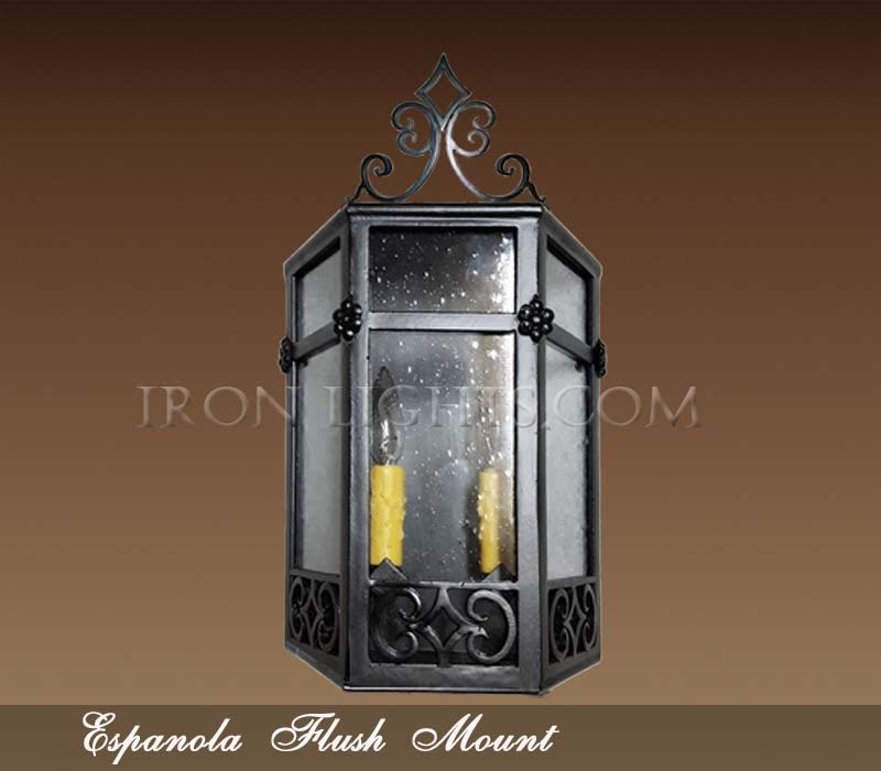 Espanola flush mount light