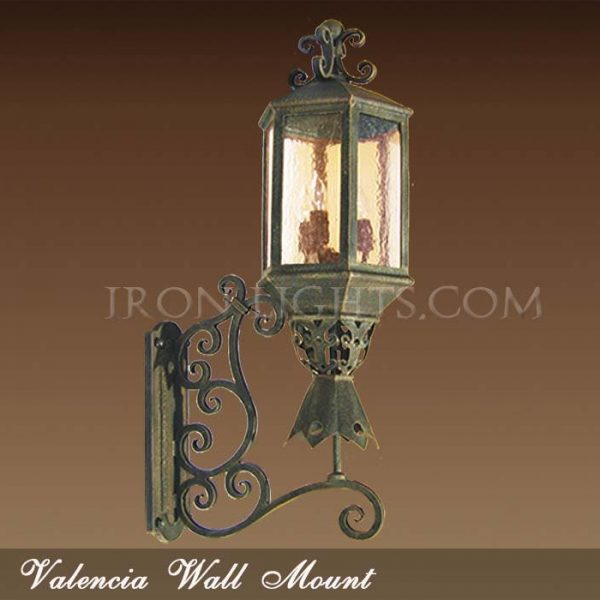 Valencia outdoor sconce