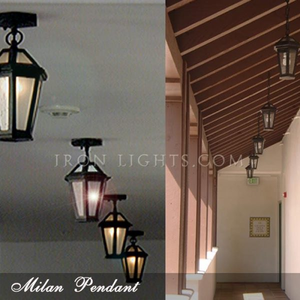 Mediterranean pendant light fixtures