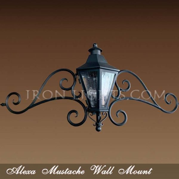 Alexa Mustache light fixture